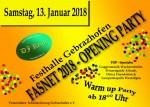 Fasnet 2018 Opening Party